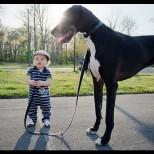 Защо децата трябва да имат кучета... и обратното (Галерия)