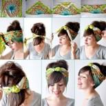 5-те най- лесни прически с шалче (Ръководство със снимки). Бъдете модерни, свежи и неустоими тази пролет и лято