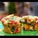 Бързо и лесно: Вкусни мъфини със спанак, чушки и сирене фета