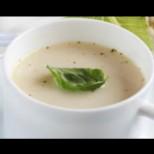 Полезна млечна супа с карфиол