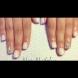 Как да си направите нежен маникюр с ослепителни кристали (Видео)