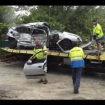 Жестока катастрофа на магистрала Тракия: Един загинал и двама ...