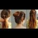 Три лесни и бързи прически за прикриване на мазната коса - Видео