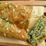 Солен кекс с рукола и кедрови ядки