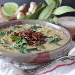 Супа от леща с карамелизиран лук