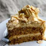 Торта с кафе и готови блатове
