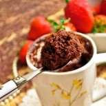 Триминутен шоколадов кекс в чашка