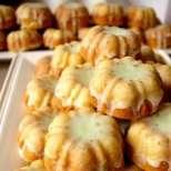 Мини-кексчета с лимонова глазура