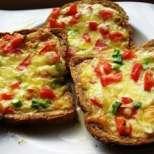 Сандвич с бъркани яйца