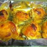 Пилешки бутчета с горчица и мед