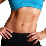 Как да стегнем долната част от коремните мускули