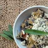 Гъби на тиган с градински чай