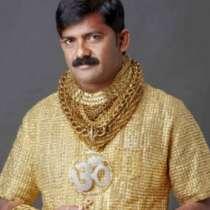 Индиец си купи златна риза за баснословна сума