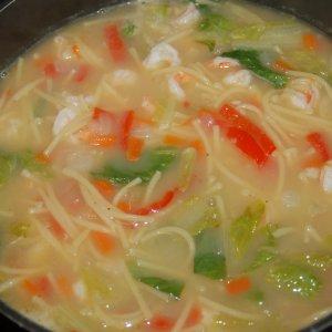 Морска супа със скариди