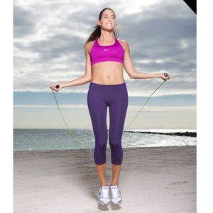 Упражнения за жени-скачане на въже за отслабване