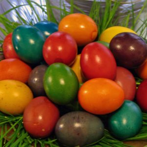 Боядисаните яйца