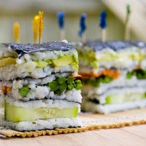 Суши-торта