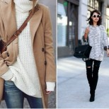 Как да носите любимият си топъл пуловер тази есен, за да сте в крак с модата? (Снимки)