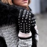 Кожени ръкавици за зима 2016