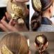 Новата тенденция, която ще искате да опитате: Злато в косата (Снимки)