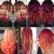 Най- новата модна тенденция в прическите- залез в косата (Снимки)