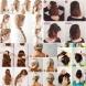 15 лесни прически за жените, които постоянно бързат за някъде. Трябват ви само 2 минути и сте готова (Ръководство в снимки)