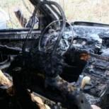 Зверска катастрофа! Двама изгоряха живи в кола!