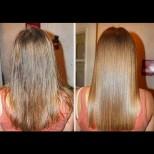 Ако косата ви е много повредена, това е един от най-ефективните начини да я възстановите! Направете си смес от ...