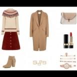 Бохо сряда: Комбинирайте къса пола с топъл ...
