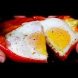 Бързо и лесно, може и за закуска: Пълнени чушки, каквито досега не сте опитвали!