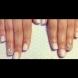 Как сами да си направите блестящ маникюр с кристали (Видео)