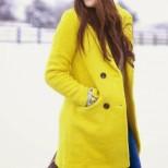 Модни комбинации в цвят охра за зима 2016