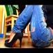 Изберете правилните обувки за всеки модел дънки (Галерия)