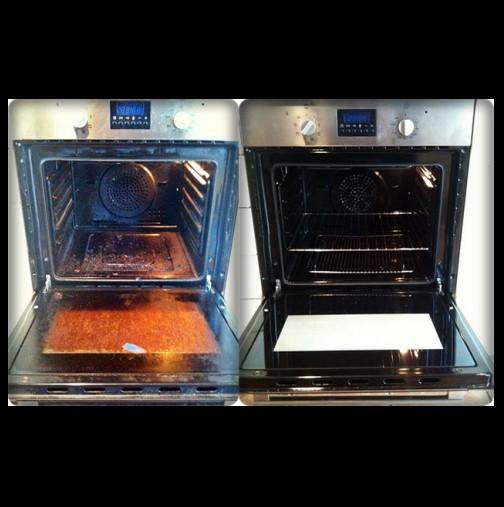 2 съставки от кухнята и печката ви ще грейне от чистота- край на търкането с часове и използването на вредни препарати (Видео)