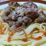 Спагети с кайма и пармезан - само за 30 минути