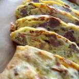 Италиански хляб с наденица