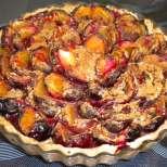 Сливов пай с бадеми