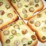 Пикантни сандвичи с кашкавал и маслини