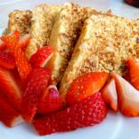 Хрупкав и диетичен френски тост