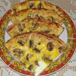 Бърза пица с пиле и топено сирене - за 15 минути