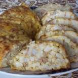 Солен кекс с кускус и кайма