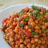 Постна яхния с нахут и зеленчуци
