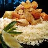 Пиле по марокански