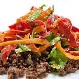 Морковена салата по индийски