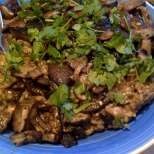 Постен ориз с гъби