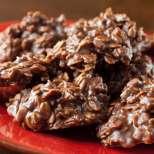 Хрупкави шоколадови курабийки без печене