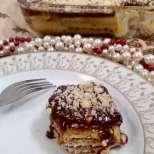 Лесна и вкусна торта с бисквити