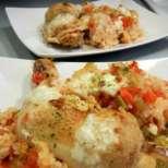 Яхния от пиле с ориз и зеленчуци