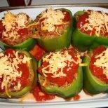 Лесни рецепти със зелени чушки