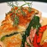 Рибно руло със спанак